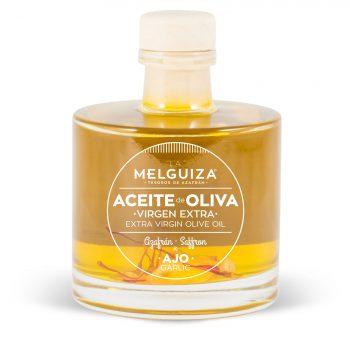 Aceite de oliva Virgen Extra con Ajo y Azafrán
