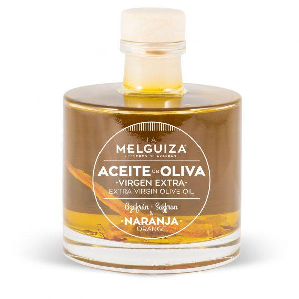 Aceite de oliva virgen extra naranja y azafrán 100ml