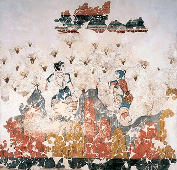 Especia mitológica que forma parte de la historia del arte