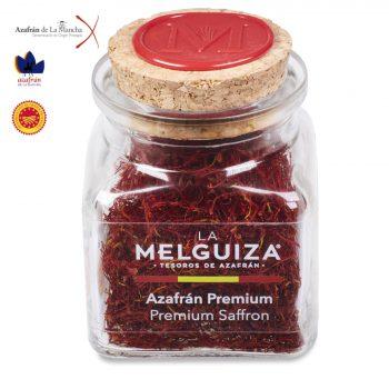 Azafrán Premium tarro cristal